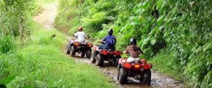 ATV in Jaco with King Tours