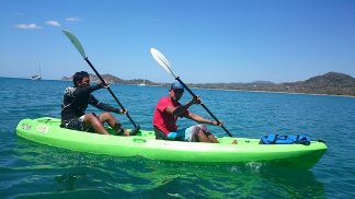 Kayaking and Snorkeling at Punta Uva Manzanillo